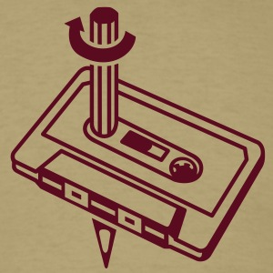 Cassette & Pen T-Shirts - Men's T-Shirt