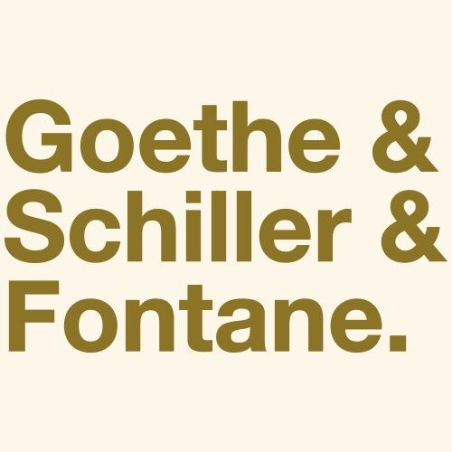 Goethe & Schiller & Fontane
