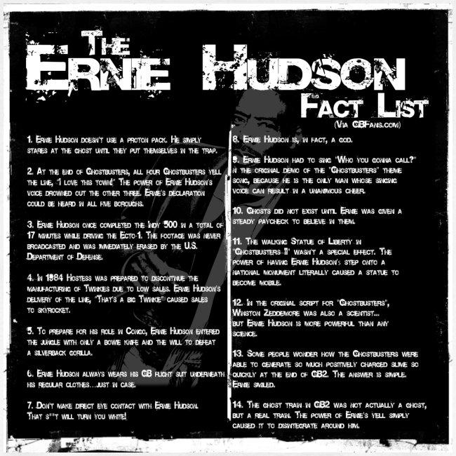 Ernie Hudson Facts
