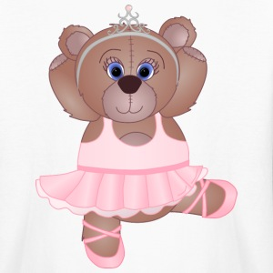 Teddy Bear Ballerina - Kids' Long Sleeve T-Shirt