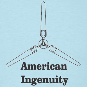 old_blade_american_ingenuity T-Shirts - Men's T-Shirt