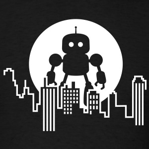 I Robot Skyline T-Shirts - Men's T-Shirt