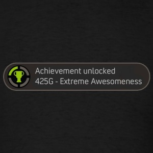 Achievement unlocked - awesomeness - Men's T-Shirt