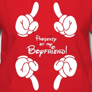property of my boyfriend Hoodies - Women's Hoodie