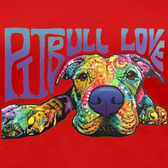 Pitbull Love - Women's Shirt