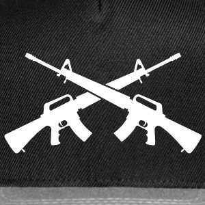 M16 Assault Rifles - Crossed - Snap-back Baseball Cap
