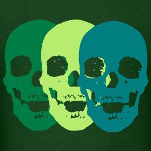 Skull Trio T-Shirts - Men's T-Shirt