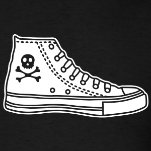 Chucks with Skull T-Shirts - Men's T-Shirt