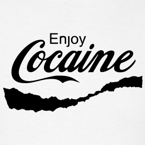 Enjoy Cocaine T-Shirts - Men's T-Shirt