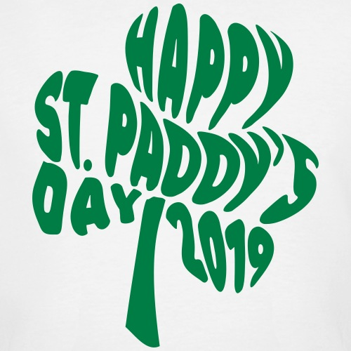 Happy St Paddys Day 2019 Typography
