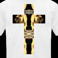 Design ~ TIGER CRUCIFIX - T-Shirt