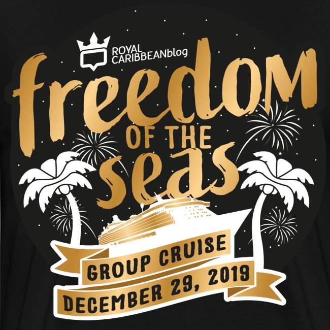Men's Freedom of the Seas Group Cruise Shirt