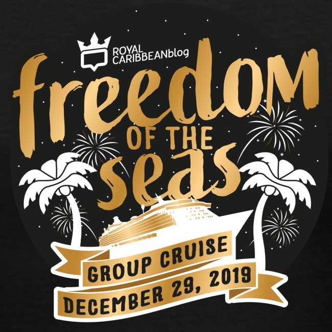 Women's Freedom of the Seas Group Cruise Shirt