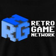 Design ~ Retro Game Network Logo T-shirt (Mens)
