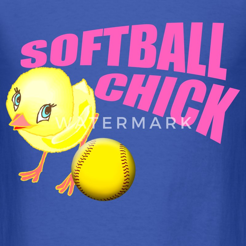 Softball Chick T-Shirts - Men's T-Shirt
