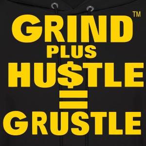 Grind Plus HUSTLE Hoodies - Men's Hoodie