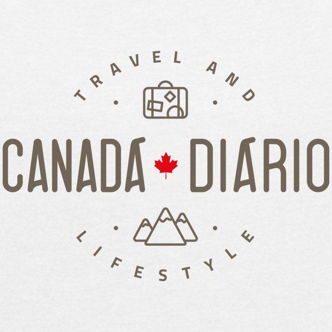 Canada Diario - Camiseta Feminina 1