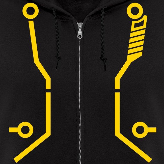 CLU2 hoodie (yellow)