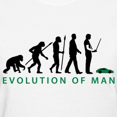 evolution_modellbauto_a_2c Women's T-Shirts
