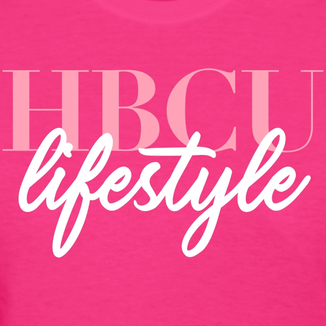 HBCU Lifestyle Script T-shirt