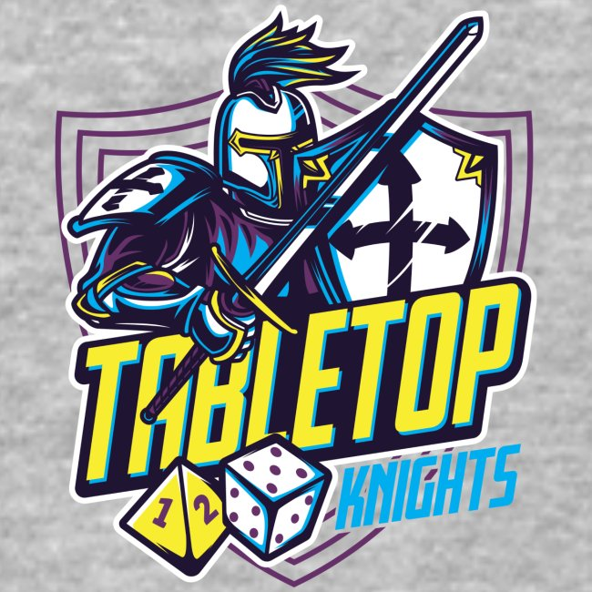 Tabletop Knights Baseball T-shirt