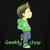 Design ~ I love Colliners -WeeklyChris  Hoodie