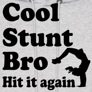 cool stunt bro hit it again Hoodies - Men's Hoodie