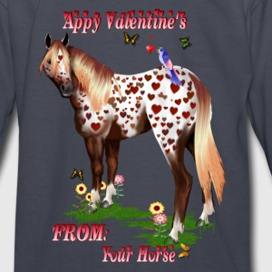 'Appy Valentine's - Kids' Long Sleeve T-Shirt
