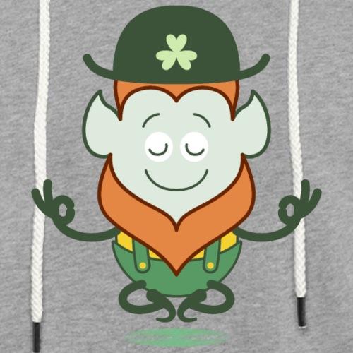 St Patrick's Day Leprechaun meditating