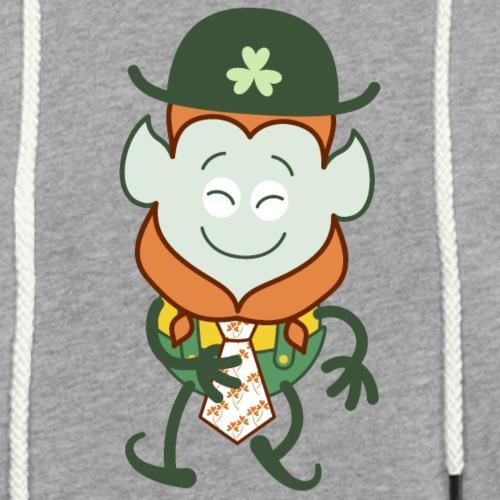 St Patrick's Day Leprechaun wearing clover tie