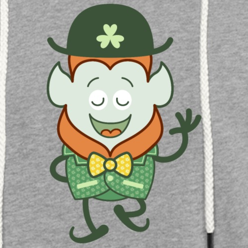St Patrick's Day Leprechaun wearing clover costume