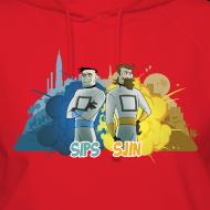 Design ~ Sips & Sjin - Women's Hoodie