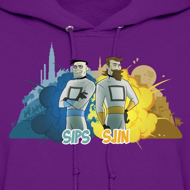 Sips & Sjin - Women's Hoodie