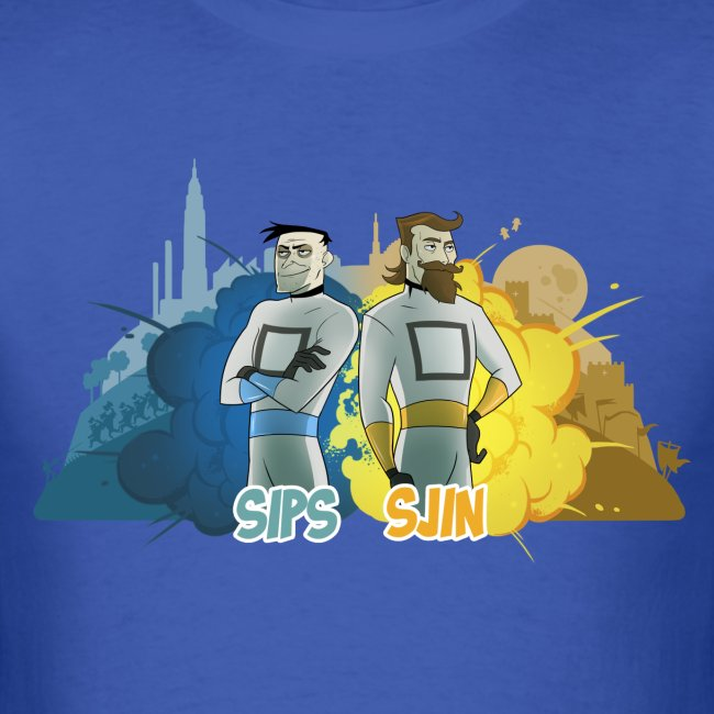 Sips & Sjin - Men's Tee