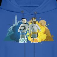 Design ~ Sips & Sjin - Men's Hoodie