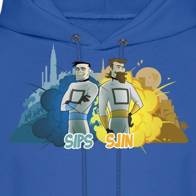 Sips & Sjin - Men's Hoodie
