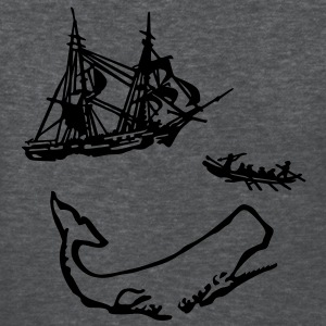 Moby Dick Illustration Women's T-Shirts - Women's T-Shirt