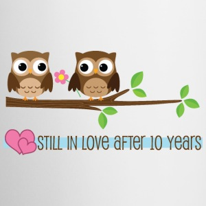 10th Anniversary (Owl) Mug - Coffee/Tea Mug