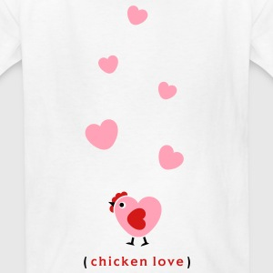 Chicken Love Kids' Shirts - Kids' T-Shirt