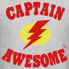 Captain Awesome Long Sleeve Shirts