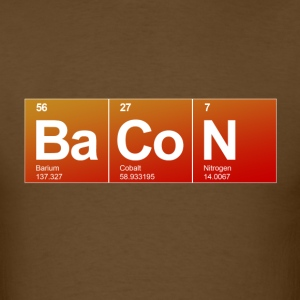 Bacon Elements - Men's T-Shirt