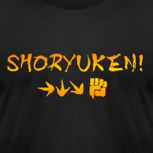 Shoryuken! - Men's T-Shirt by American Apparel