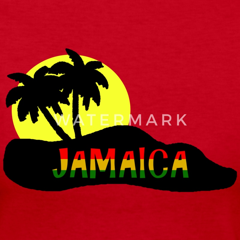jamaica Long Sleeve Shirts - Women's Long Sleeve Jersey T-Shirt