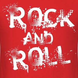 Rock and Roll - Men's T-Shirt