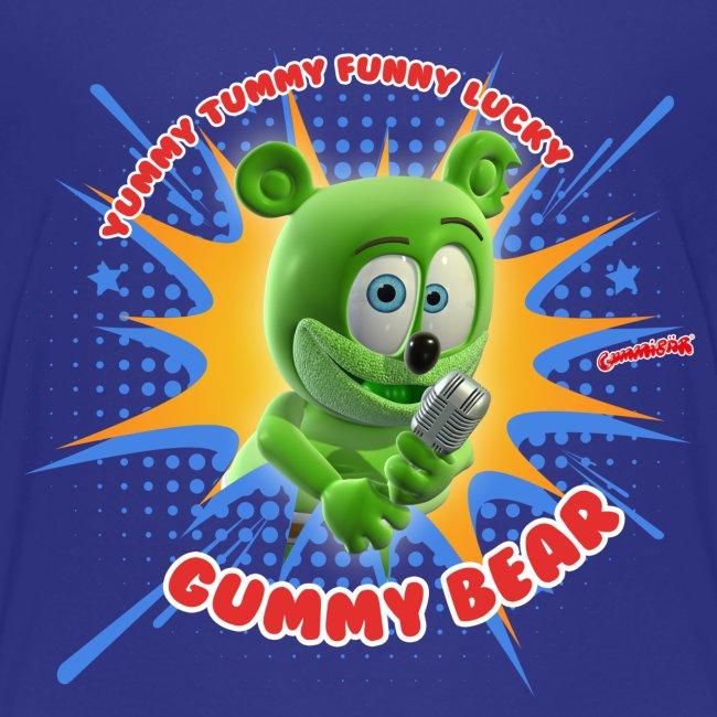 Gummibär (The Gummy Bear) Funny Lucky Toddler T-Shirt