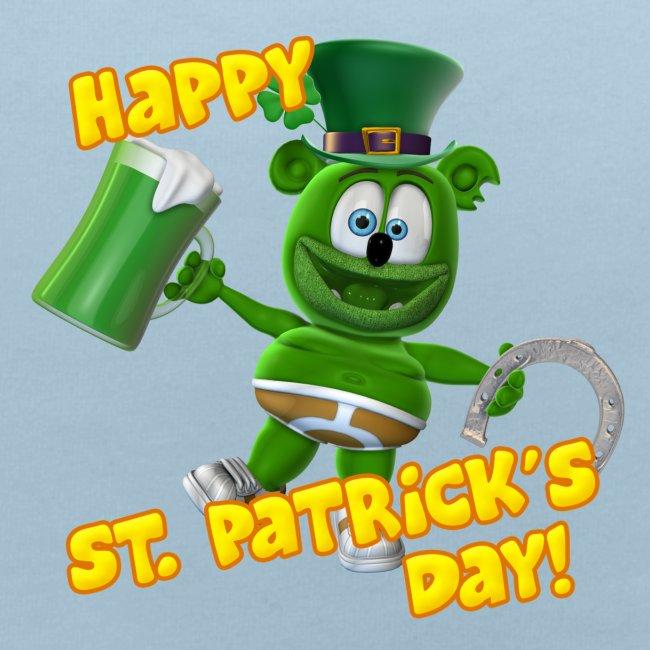 Gummibär (The Gummy Bear) St. Patrick's Day Bib