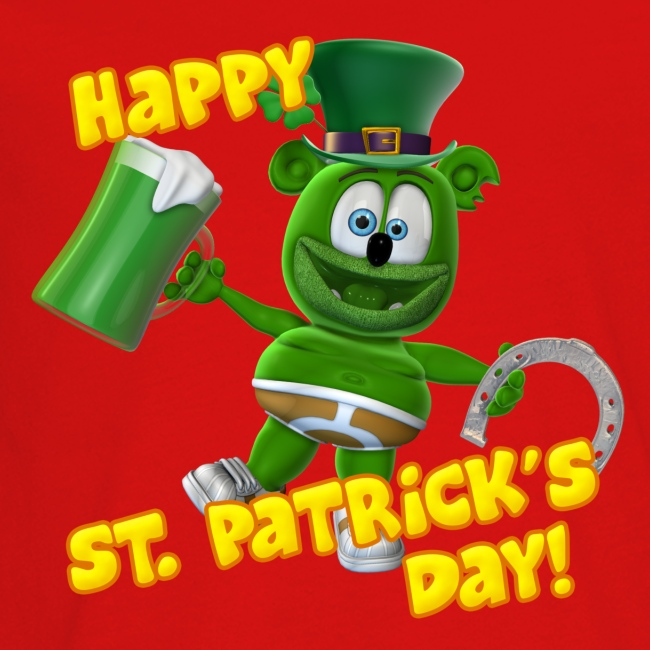 Gummibär (The Gummy Bear) St. Patrick's Day Kids' Premium Long Sleeve T-Shirt