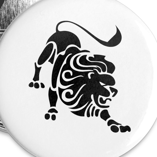 LEO Zodiac Sign Symbol Buttons | Buttons small 1'' (5-pack)