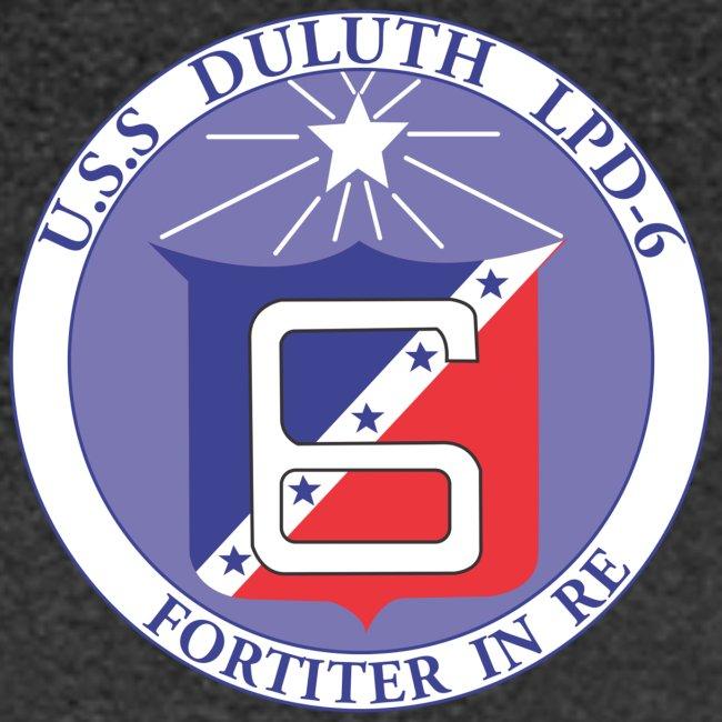 USS DULUTH LPD-6 CREST TEE