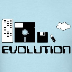 Computer Storage Evolution T-Shirts